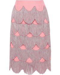 Marc Jacobs Knee Length Skirt - Pink