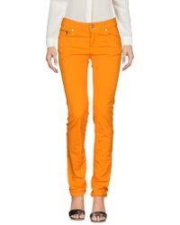 Dirk Bikkembergs Trousers - Orange