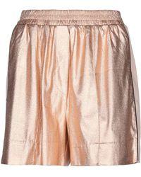 Nude Shorts & Bermuda Shorts - Pink