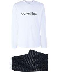 Calvin Klein Pyjama - Weiß
