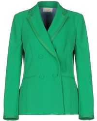 Sara Battaglia Suit Jacket - Green