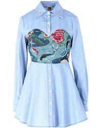 I'm Isola Marras Shirt - Blue