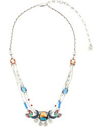 Ayala Bar Necklace - Blue