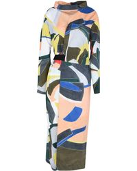 Erika Cavallini Semi Couture - 3/4 Length Dress - Lyst