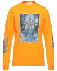 Flagstuff T-shirt - Orange