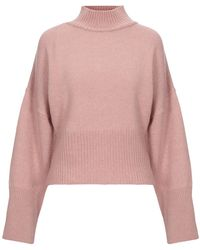 NA-KD Turtleneck - Pink
