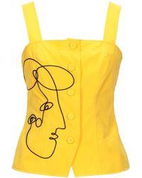 Moschino Top - Yellow
