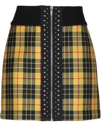 Palm Angels Mini Skirt - Yellow