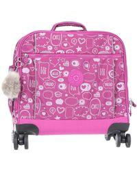 Kipling Wheeled luggage - Purple
