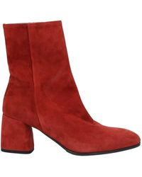 Lorenzo Masiero Ankle Boots - Red