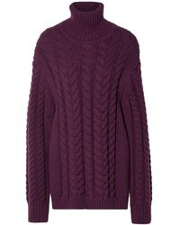 Tibi Turtleneck - Purple