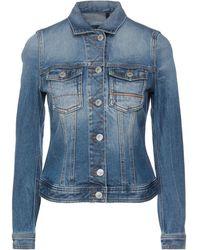 Care Label Denim Outerwear - Blue