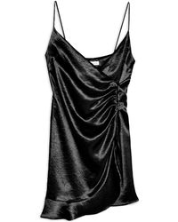 TOPSHOP Short Dress - Black