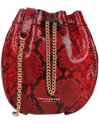 Philosophy Di Lorenzo Serafini Cross-body Bag - Red