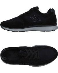 Hogan Low Sneakers & Tennisschuhe - Schwarz