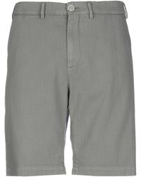Brunello Cucinelli Bermuda jeans - Grigio