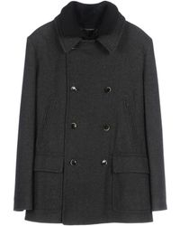 Dolce & Gabbana Manteau long - Noir