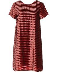 INTROPIA Short Dress - Red