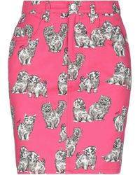 MSGM Knee Length Skirt - Pink