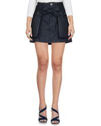 Diesel Black Gold - Denim Skirt - Lyst