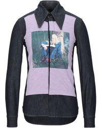 Acne Studios Camicia jeans - Blu