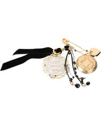 Dolce & Gabbana Brooch - Metallic