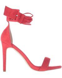 Romeo Gigli Sandals - Red