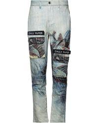 Daily Paper Denim Trousers - Multicolour