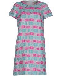 Mantu - Short Dress - Lyst