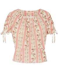 Brock Collection Bluse - Pink