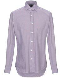 Bagutta Shirt - Purple