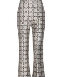 Tory Burch Casual Trousers - Grey