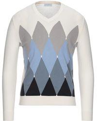 Ballantyne Sweater - White