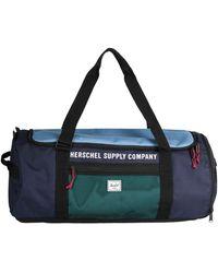 Herschel Supply Co. Travel Duffel Bags - Blue