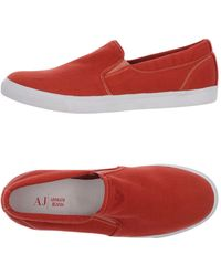 Armani Jeans Sneakers - Rouge