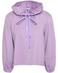 Tibi Sweatshirt - Purple