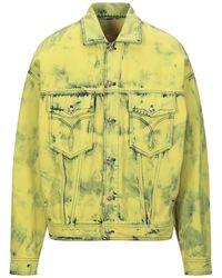 Versace Jeansjacke/-mantel - Mehrfarbig