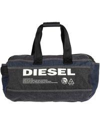 DIESEL Travel Duffel Bags - Blue