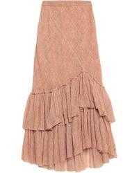 Mes Demoiselles Long Skirt - Brown