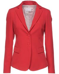SADEY WITH LOVE Suit Jacket - Red