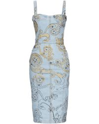 Versace Jeans Couture Knee-length Dress - Blue
