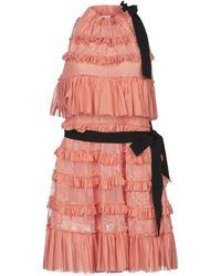 BROGNANO Short Dress - Pink
