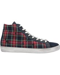 Leather Crown High-tops & Trainers - Blue
