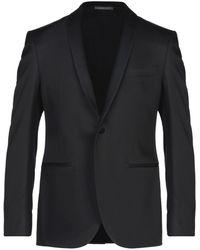 Luigi Bianchi Mantova Suit Jacket - Black