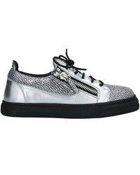 Giuseppe Zanotti Sneakers & Tennis shoes basse - Metallizzato