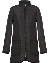 Armani Jeans Synthetic Down Jacket - Black