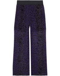 Anna Sui Pantalon - Bleu