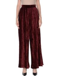 Aviu Casual Trousers - Red