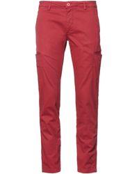 DISTRETTO 12 Trouser - Red