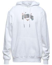 ELEVEN PARIS Sweatshirt - Weiß